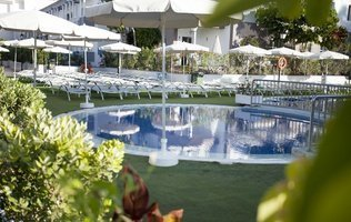Garten Hotel Coral Compostela Beach Golf