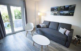 Wohnzimmer Hotel Coral Compostela Beach Golf