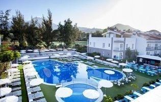 Panoramablick Hotel Coral Compostela Beach Golf