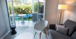 Apartment a1 mit privatgarten und poolblick Coral Compostela Beach Golf Hotel