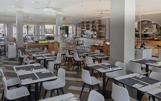 Buffet Restaurant Hotel Coral Compostela Beach Golf